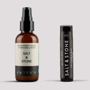 Salt & Stone Antioxidant Facial Hydrating Lotion + Salt & Stone California Mint Lip Balm