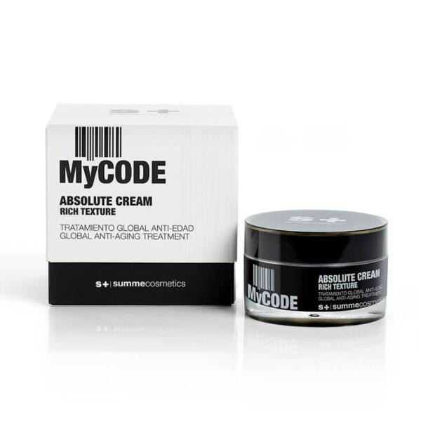 Summecosmetics MyCode Absolute Cream Rich Texture