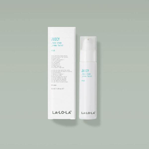Lalola Juicy Crema Facial Reparadora 50 ml.